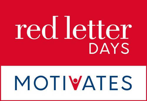 Red Letter Days For Business unveils new brand identity 'Red Letter Days Motivates'