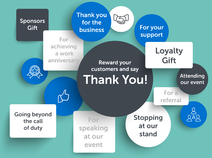 Branded corporate gifts 'best way to say thank you' | Incentive&Motivation