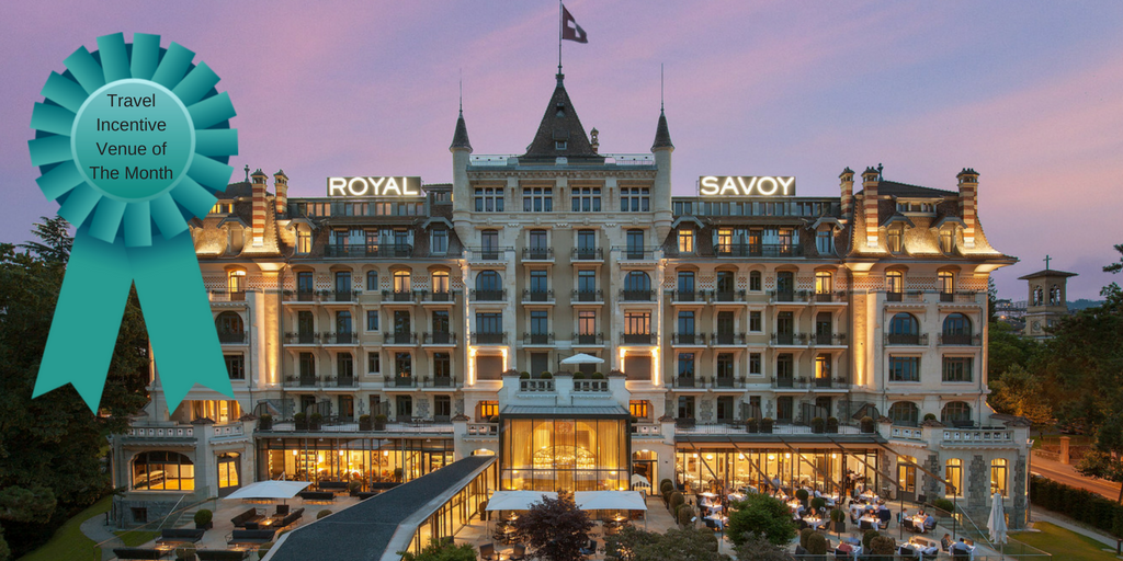 Travel Incentive Venue of the Month: Royal Savoy Hotel & Spa's Penthouse Suite, Geneva