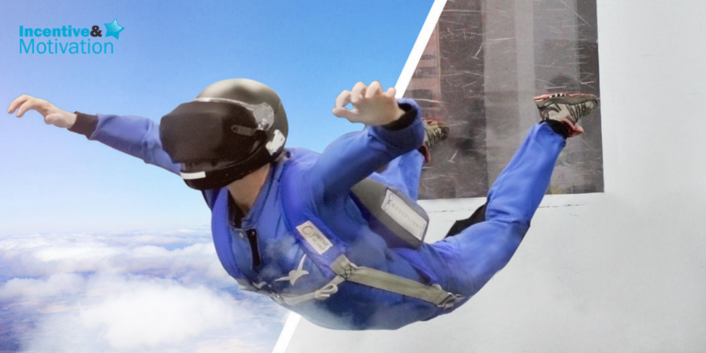 VR skydive voted top new event experience