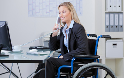 Over 25% of UK offices don't have sufficient wheelchair access, survey reveals