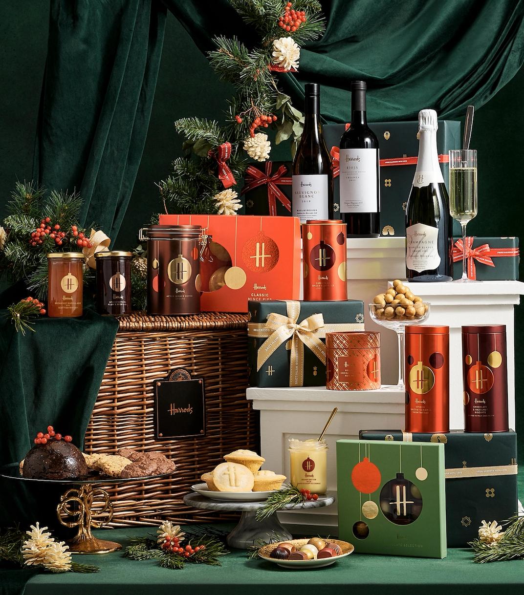 Win a Harrods Knightsbridge Christmas Hamper