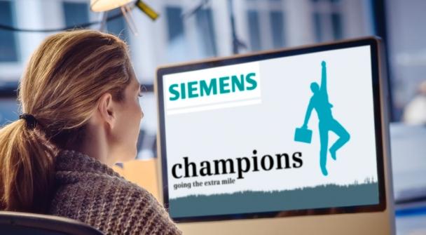 Siemens 'Champions' employee recognition across a European network |Incentive & Motivation